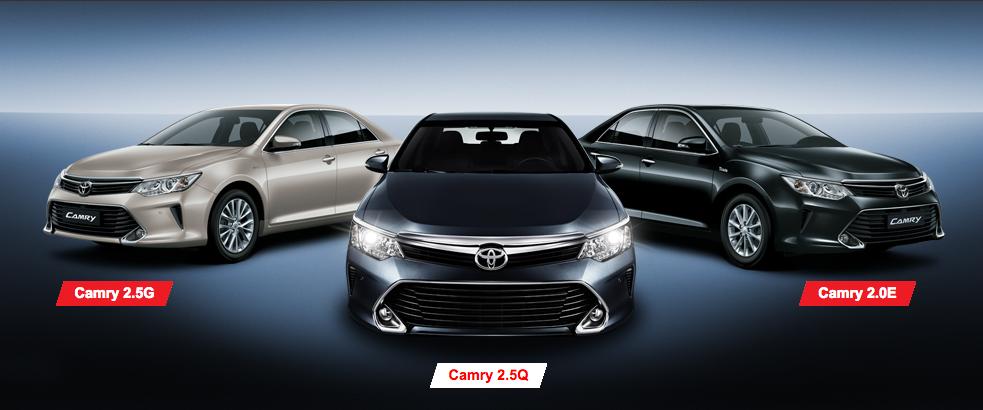 Khuyến mãi lớn cho khách hàng mua xe Camry