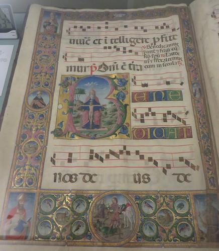 Antiphonaire VII, 1486, Musée épiscopal, via San Romano, Ferrare, Emilie-Romagne, Italie.
