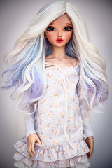 Frozen Waves (Amadiz) Tags: wig wigs amadiz amadizstudio doll dolls abjd bjd tan fashion hairstyle fairyland chloe minifee