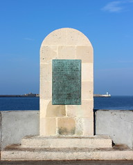 Le Havre - Mmorial amricain (Philippe Aubry) Tags: normandie seinemaritime paysdecaux pointedecaux estuaire lehavre jete mmorial mmorialamricain secondeguerremondiale