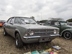 ford cortina mk3 (mikejsutton) Tags: berwick st john country fayre dorset mike sutton stars appeal steam engine traction wood sawing tractor pull tractors ford cortina mk3 vauxhall viva rio bumper reflection wheel tyre car landrover aec lorry truck deere ransomes ploughing sheep shearing threshing oil can hurdle fairground organ