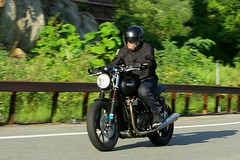 Triumph 1608203580w (gparet) Tags: bearmountain bridge road scenic overlook motorcycle motorcycles goattrail goatpath windingroad curves twisties outdoor vehicle