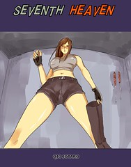 7th heaven comic (Love Giantess) Tags: crush femdom tifa trample vore finalfantasy7 cloud cock couple feet fetish ff7 finalfantasy giant giantess growth