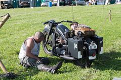 DSC_7496.jpg (john_spreadbury) Tags: ww2germansenglishgloucestersreenactment war reenactmentgloucesters paras army germans german troops bmw motorbikes guns machineguns nurse actors wartime reenactment soldiers british americans
