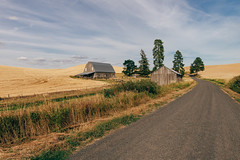 Out There (Pedalhead'71) Tags: whitmancounty washington palouse landscape barn garfield unitedstates us