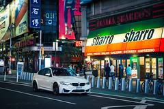 BMW F30 M3 at Times Square (Rdz.Photography) Tags: newyork newyorkcity nyc timessquare bmw f30 m3 carspotting race car