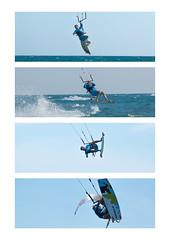Collage Kitesurfing ((Do.Sebe)) Tags: kitesurfing kiteboarding kitebeach kiteinmontenegro kite wind jump