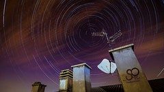 Startrail around Polaris Startrail autour de ltoile Polaire  Accumulation of 375 pictures with the free software StarStaX  Location: Parma (Italy) Date: 09.22.2016 Number of pictures: 375 Delay between pictures: 30s Shooting time: 3h  Free software Star (studioocoma) Tags: night starrynight amazingearth astro etoilepolaire polaris stars nightshot clouds studioocoma planets astronomy astrophotography sonya5000 nightscape meteor universe startrail nightimages starshots nighttime tokina amazinglongexpo landscape longexposure italy airplane satellites sky starstax
