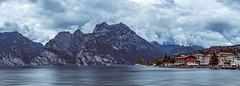 Lago di Garda (David Kutschke) Tags: lake garda gardasee see house mountain haus berg cloud wolken cloudy wolkig panorama landscape landschaft riva del lago