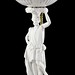 139A. Antique Figural Porcelain Table Lamp