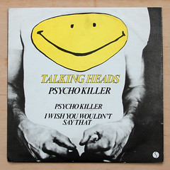 Talking Heads - Psycho Killer (Leo Reynolds) Tags: canon eos ebay play head iso400 vinyl cover psycho killer single 7d record extended f80 talking sleeve platter ep 12inch 45rpm talkingheads 38mm pyschokiller extendedplay 0008sec hpexif xleol30x xxx2013xxx