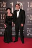 Leo Varadkar and IFTA CEO Aine Moriarty at Irish Film and Television Awards 2013 at the Convention Centre Dublin
