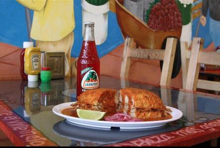 Torteria Barriga Llena La Cocina De Oaxaca Joining Hill S