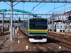 Arriving to Omiya (Matt-san) Tags: japan japanese trains jr tokaido