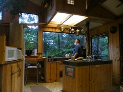 Cooking in the treehouse (jinxmcc) Tags: hawaii treehouse skyepeterson volcanotreehouse