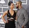 55th Annual GRAMMY Awards - Arrivals held at Staples Center Featuring: Alicia Keys,Swizz Beatz