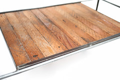 "Pine Top Coffee Table with Lath Shelf - Shelf Detail • <a style=""font-size:0.8em;"" href=""http://www.flickr.com/photos/80301931@N08/8466297463/"" target=""_blank"">View on Flickr</a>"
