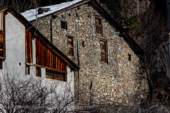 Andorra history: Old houses (lutzmeyer) Tags: pictures winter history photography europe photos pics centre center images historic 300mm oldhouse fotos tele invierno below baixa february past febrero unten historia andorra antic bilder imagen pyrenees februar iberia historie pirineos middleage pirineus iberianpeninsula febrer geschichte pyrenen historique historisch 15thcentury imatges hivern mittelalter alteshaus viertel escaldes engordany geschichtlich escaldesengordany ortsteil iberischehalbinsel stadtgebiet avingudadelpessebre calribotbordapessebre parroquiaescaldesengordany andorracity lutzmeyer lutzlutzmeyercom xvsegle