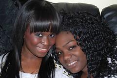 Salima & Mariatu (Ibrahim D Photography) Tags: girls beauty african sierraleone ebony africanbeauty ebonybeauty