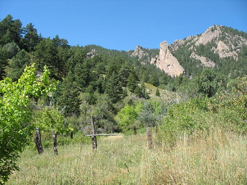 Photo - Corral near the McGilvery Cabin