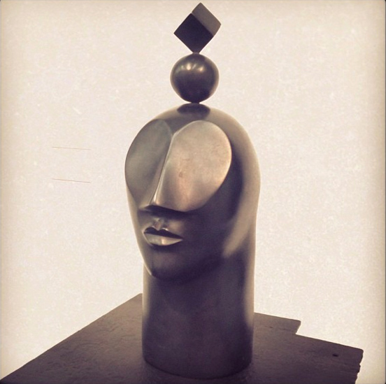 UNIVERSAL SELF. Bronze sculpture