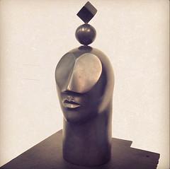 UNIVERSAL SELF. Bronze sculpture