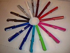 Rainbow of LAMY LOVE (azfotojoy) Tags: lamysafari lamyallstars