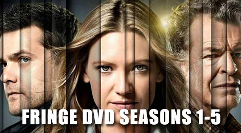 100 episodes of Fringe dvd walk along several tribulation years