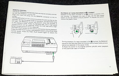 Sony SL-5600 VCR Betamax (7) (Photo Nut 2011) Tags: sony beta instructions vcr betamax sl5600