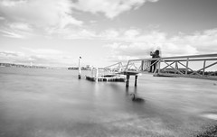 The jetty (screenstreet) Tags: longexposure blackandwhite jetties lakeburleygriffin nd110 tokina1116mmf28 silverefexpro photowalkcanberra