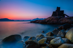 Cape D'Aguilar | Hong Kong (dawvon) Tags: world ocean china city longexposure travel sunset sea sky hk seascape beach nature silhouette rock stone landscape ed hongkong countryside twilight nikon asia zoom wideangle nikkor   f4 vr afs hongkongisland lenses zoomlens sheko  f4g 1635mm   fmount vibrationreduction hoktsui vr2   vrii capedaguilar wideanglezoom nanocrystalcoat afsnikkor1635mmf4gedvr 1635mmf4gvr