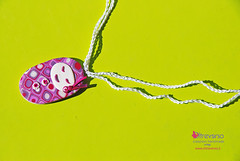Picciotta: polymer clay doll jewelry (OltreversoLab) Tags: doll jewelry pins polymerclay fimo collana bambolina picciotta fimojewelry fimocane fimobijoux fimopate pastepolimeriche fimopins pateàfimo socialfimo