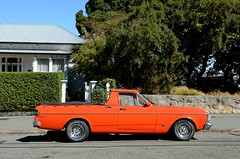1972 Falcon XY (stephen trinder) Tags: road new red christchurch car landscape profile utility ute zealand nz falcon 1972 xy