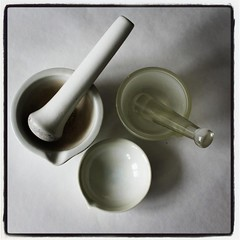 Laboratory Equipment Mortar and Pestle (eltpics) Tags: equipment mortar pestle labratory eltpics