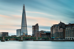 The Shard [Explored] (Davide Anastasia) Tags: longexposure sunset london thames architecture river shard riverthames d800 leefilters nikond800 bigstopper leebigstopper lee06gndh