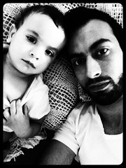 Amir and me (amir.sarya) Tags: son amir childeren fatherson qom uploaded:by=flickrmobile flickriosapp:filter=orca orcafilter