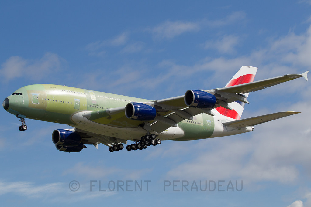 F-WWSC // G-XLEC British Airways Airbus by Flox Papa, on Flickr