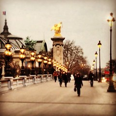 Pont Alexandre III - Paris (OnaMissionMedia) Tags: square squareformat hefe iphoneography instagramapp uploaded:by=instagram