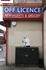 DS (SReed99342) Tags: uk england streetart london graffiti stencil ds islington