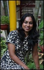 Portrait of Sowmya (Nagarjun) Tags: bangalore ruchi kaushal vedant anindita ipsita malathi sowmya murli casaansal