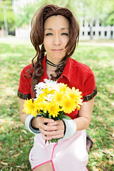 Aeris Gainsborough from Final Fantasy VII by Access Cosplay - Anime Matsuri 2013 (Michael Shum) Tags: portrait female texas houston videogame ff7 finalfantasyvii aeris ffvii aerith finalfantasy7 coplay aerisgainsborough aerithgainsborough animematsuri sigmaaf35mmf14dghsm animematsuri2013 accesscosplay