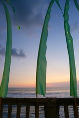 Green Flags (brianfarrell) Tags: ocean sea bali indonesia relax march surf peace lot wave serene relaxed tranquil tanahlot tanah 2013
