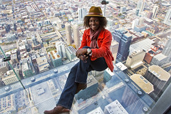 Living on the Edge... (ann7106) Tags: floors towersears trainjourneychicagozephyrcalifornia boundwillis towerchitown103