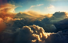Sky only  - Desktop size 1680x1050px....... If you reblog the photo please leave a link to the original! Thanks!!! (Katarina 2353) Tags: above desktop travel blue windows light sunset shadow summer wallpaper vacation sky panorama orange sunlight m