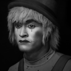 (Camilo_Alvarez) Tags: portrait people gente retrato clown makeup mimo payaso mime maquillaje