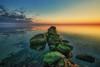 Strandhusen 2013 (dubdream) Tags: ocean sunset sea sky cloud seascape beach water germany landscape boat nikon rocks day cloudy ngc mole hdr schleswigholstein d800 heiligenhafen colorimage dubdream