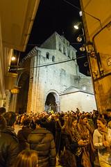 Nuestra Catedral (Frankness2008) Tags: santa españa canon eos noche huesca zoom jesus catedral tokina cruz nocturna aragon cristo angular semana cristiano romanico jaca catolico callejera 1116