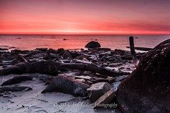 North Point Sunrise (Don3rdSE) Tags: longexposure lake color nature water wisconsin sunrise canon eos march rocks lakemichigan northshore milwaukee 7d wi waterscape lansscape 2013 canon7d don3rdse