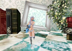 Hybrid Dollie (Mildread.Gloom) Tags: cute fashion female events free sl secondlife zodiac hybrid wonderland undies rmk aries aliceinwonderland hunts groupgift huntgifts adoreabhor insufferabledastard