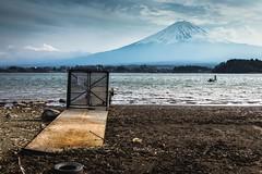 Gateway to Mt. Fuji (notjustnut) Tags: travel mountain lake japan landscape fuji traveller fujisan ropeway mtfuji kawaguchilake